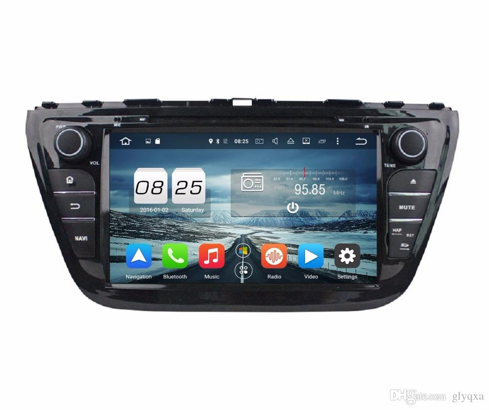 Octa core 2 din 8 android 6 0 car dvd car radio dvd gps for suzuki sx4 s cross 2014 with 2gb ram bluetooth wifi 32gb rom mirror link car radio auto dvd
