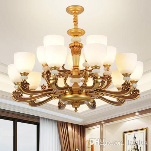 Modern Chinese Style Highend Chandelier Lights Lanterns Zinc