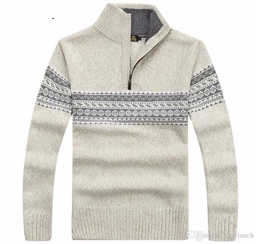Sweater Men 2016 New Winter Fashion Mens Cashmere Sweater Coat ...