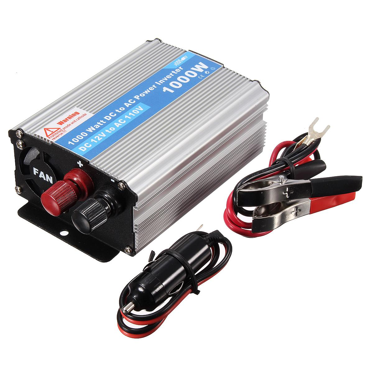 1000w dc 12v to ac 220v vehicle power supply switch on board charger car inverter cec_61k 1000w car inverter car inverter car power inverter online with