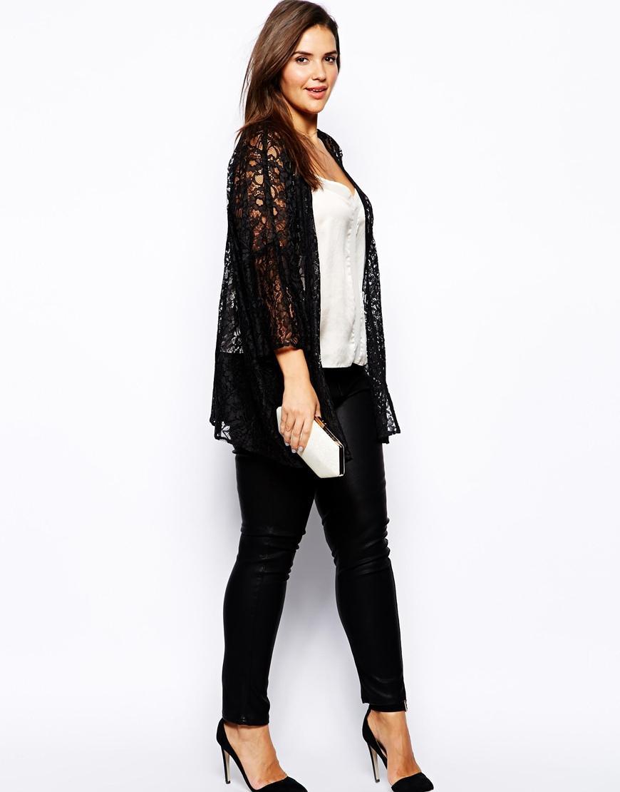 Wholesale- Plus Size Women Lace Cardigan 4xl 5xl 6xl 2016 Women ...