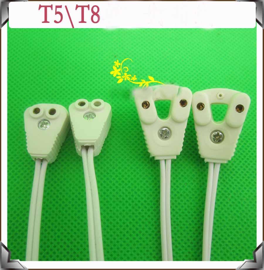 2018 12inch Led T8 T5 Tube Light Double Pin Holder Socket