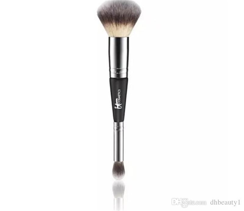 It brushes double end brush with tube foundation blush