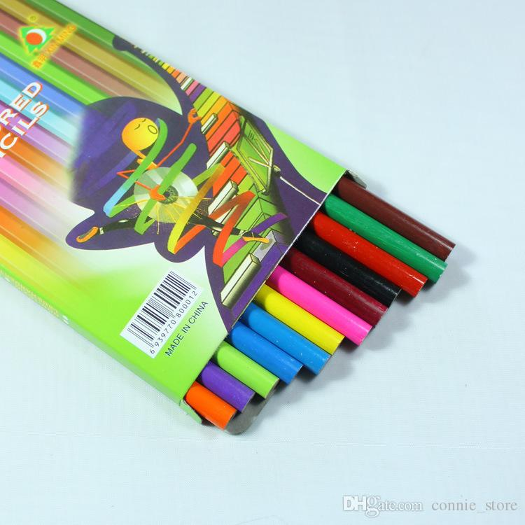 in stock wooden color pencils for coloring books secret garden crayon painting pen drawing pencil painting supplies color pencils painting pen drawing - Best Colored Pencils For Coloring Books