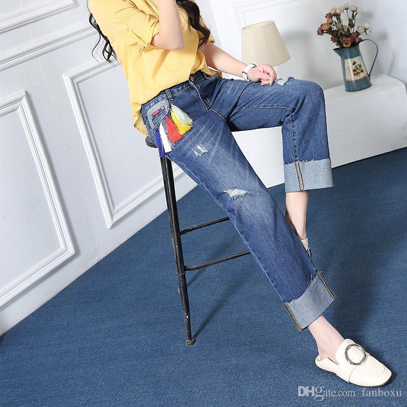 Factory Supply Women Fancy Jeans/brazilian Jeans Women/women in ...