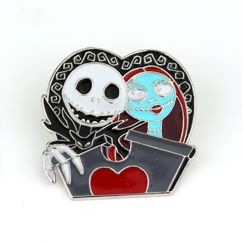 Wholesale- The Nightmare Before Christmas Brooch Jack Mickey ...