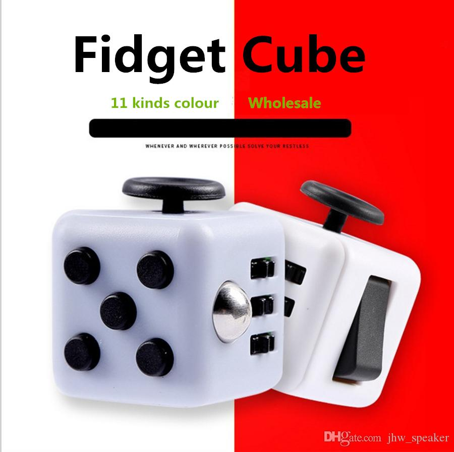 Big Size ! 3*3*3cm Magic Cube Toys Fidget Cube With Box Relieves ...