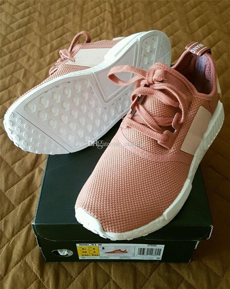 Adidas NMD R1 PK Salmon Pink Onix Glitch Camo Women