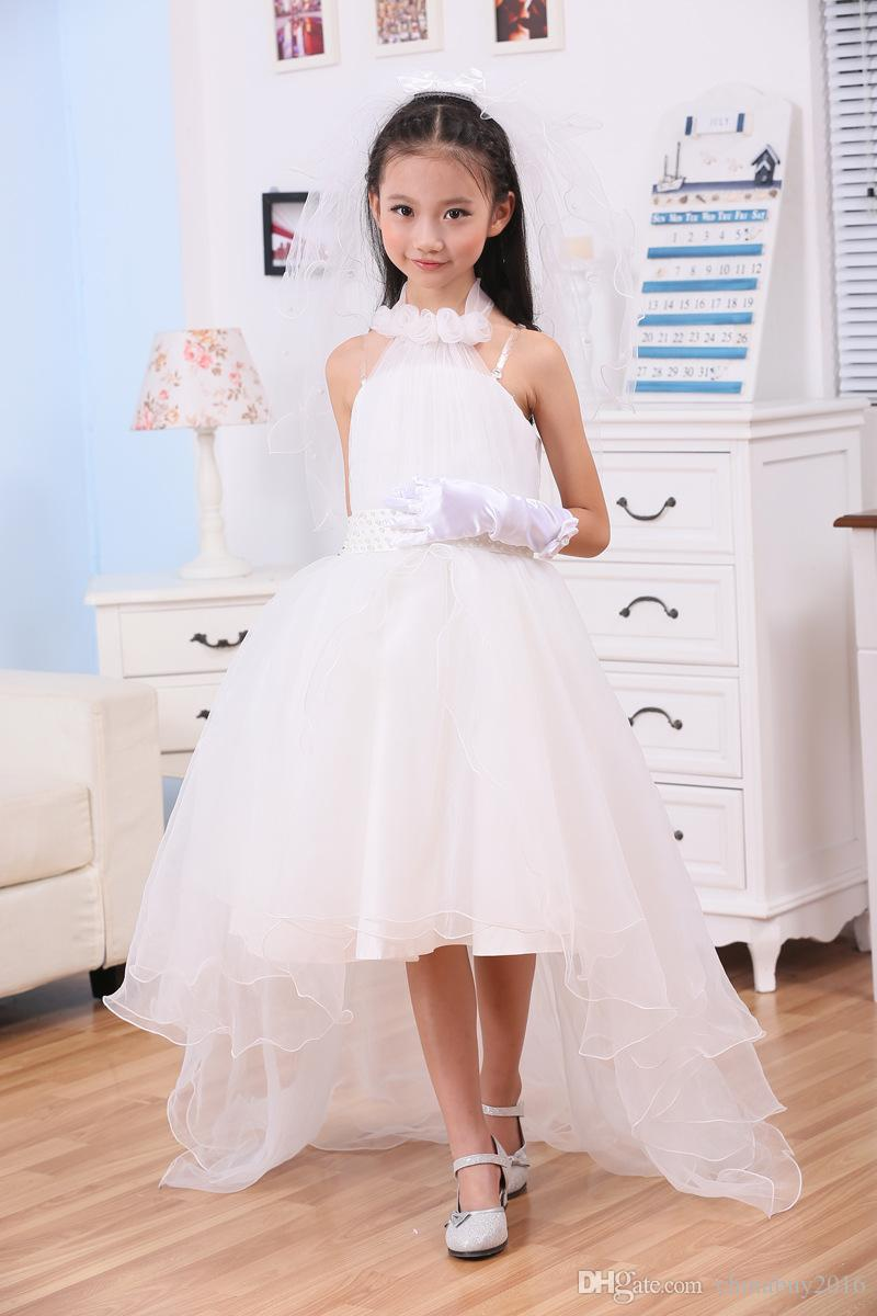 Flower Girls Dresses For Weddings Pretty Formal Halter