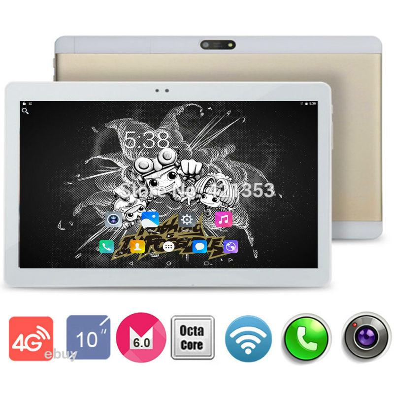 Wholesale- Metal Case 2107 Nouveau design 10 pouces FDD 4G LTE Tablet Octa Core