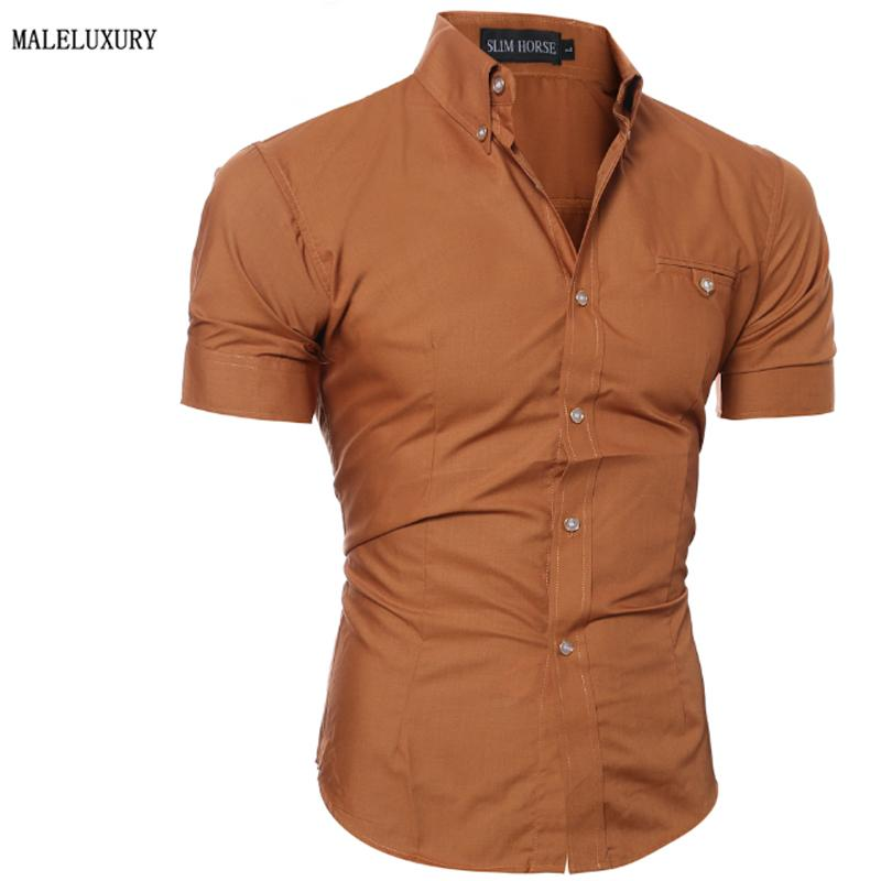 Best wholesale men shirt luxury brand 2016 male short for Expensive mens dress shirts brands