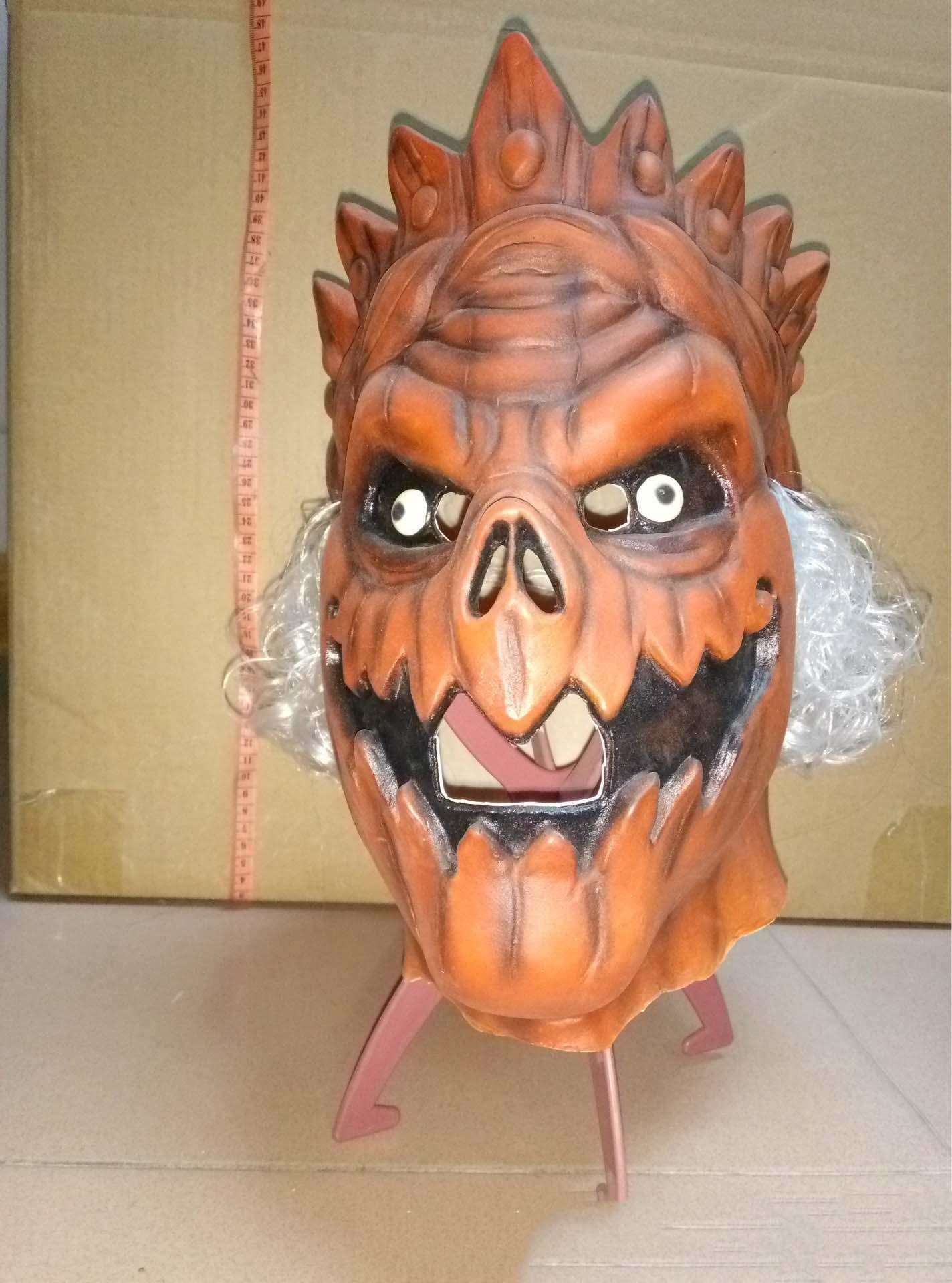 Halloween Mask Party Scarymask Scream Mask Costume Latex Pumpkin ...