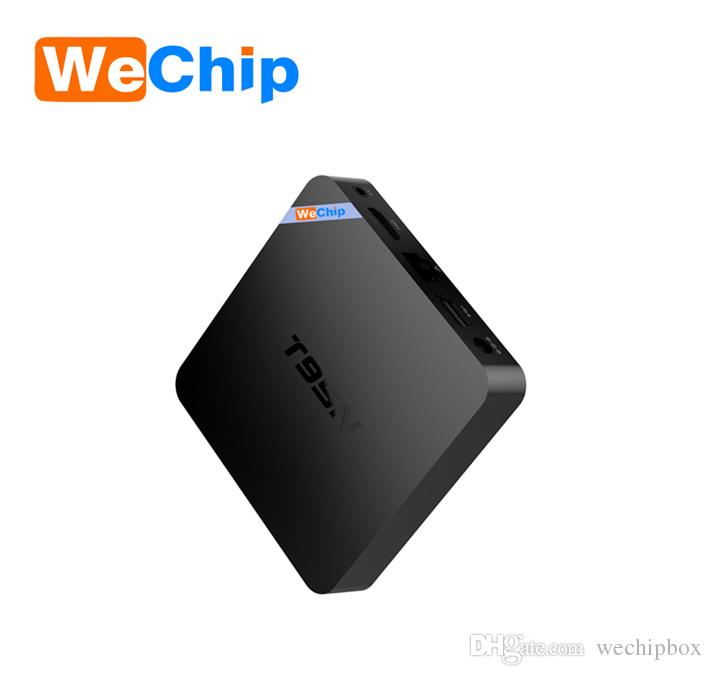 Original WeChip T95N TV Box Android 6.0 Quad Core 2G 8G S905X 4K Media Player Wi