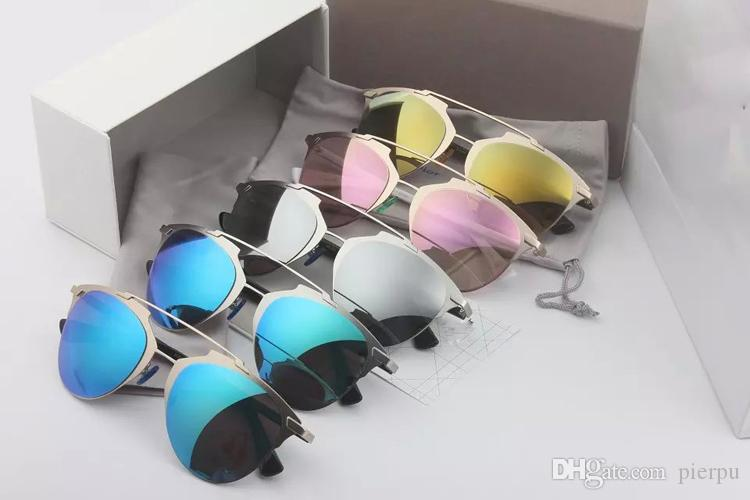 Wholesale-2017 So Fashion Lunettes de soleil pour chat Eye Femme Design de marqu