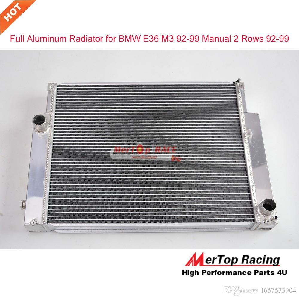 mertop race full aluminum radiator for bmw e36 m3 92 99. Black Bedroom Furniture Sets. Home Design Ideas