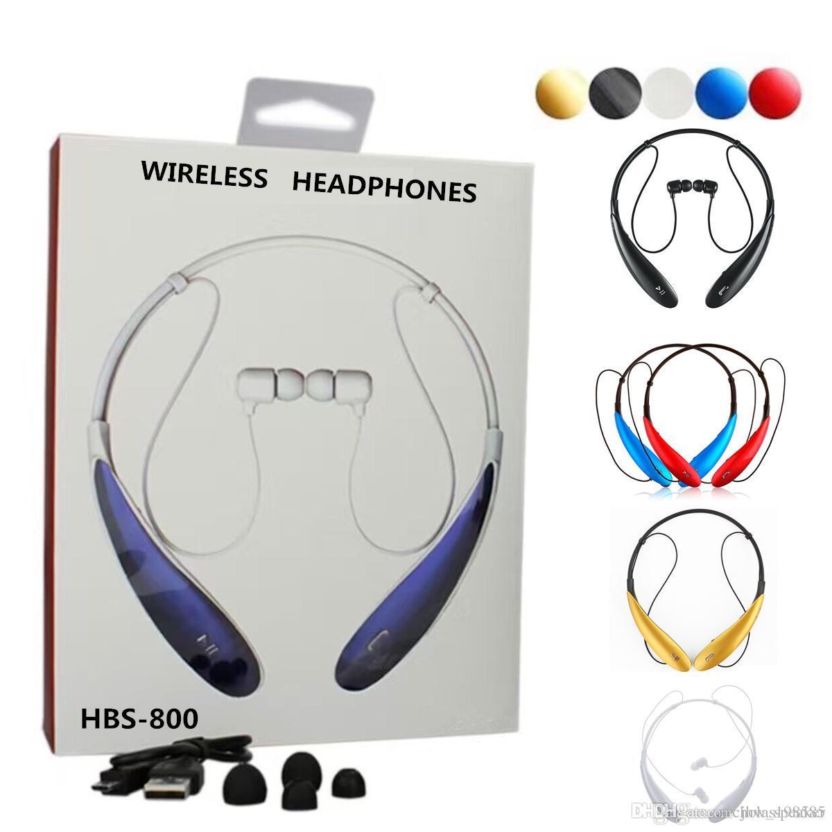 hbs 800 bluetooth headphones sport headset tone hbs800 neckband stereo wirele. Black Bedroom Furniture Sets. Home Design Ideas