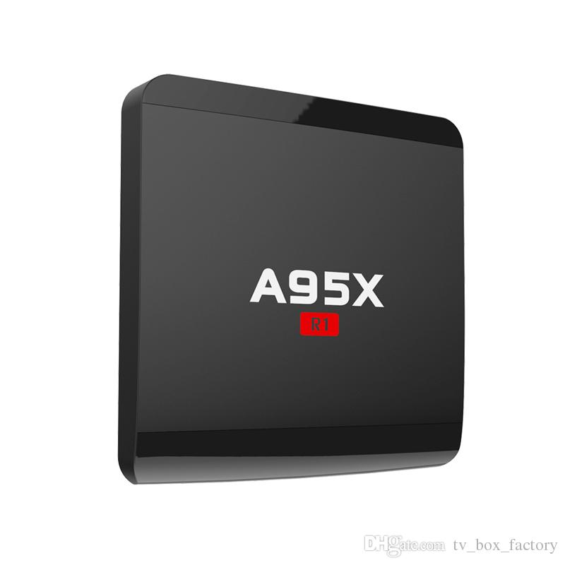 A95X R1 Smart Android 6.0 TV Box Rockchip RK3229 Quad-cœur 1G 8G HDMI OTT IPTV T