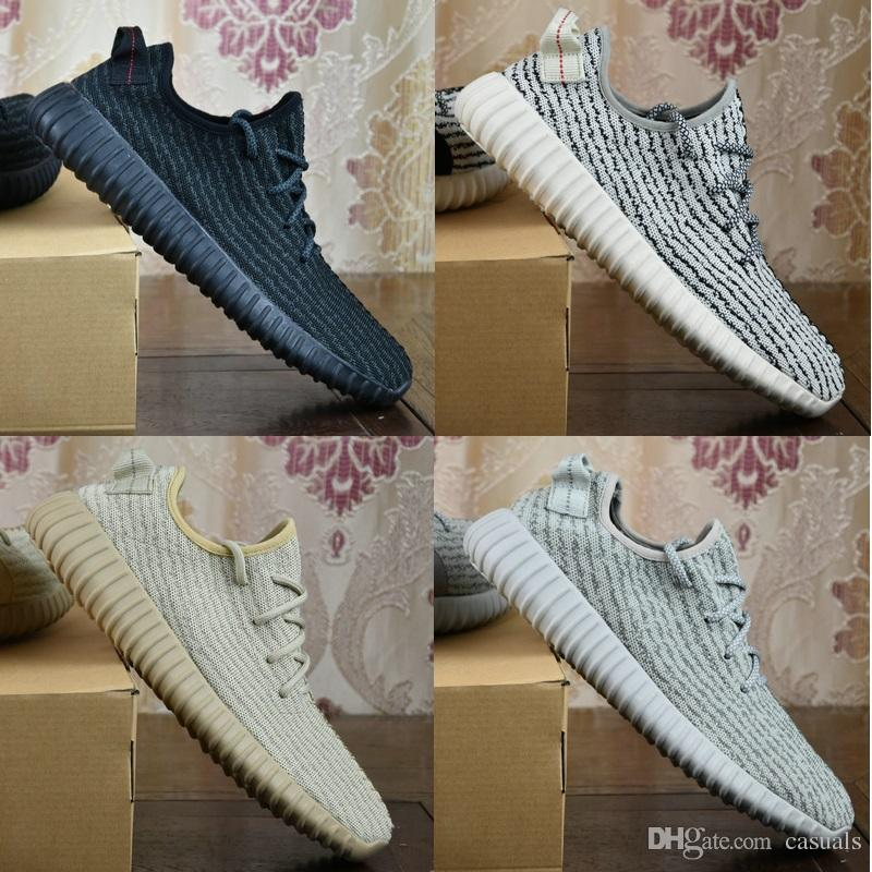 Authentic Yeezy boost 350 v2 White black raffle canada Colorways