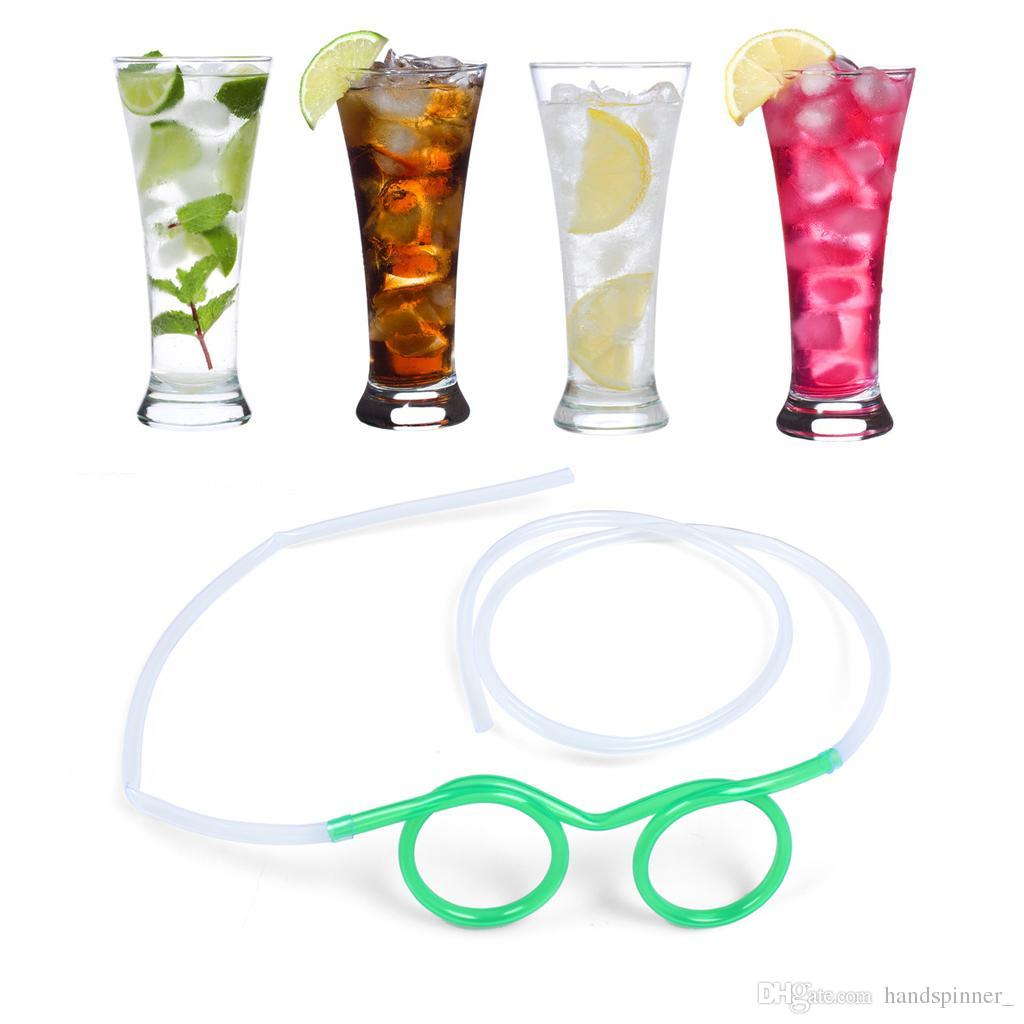drinking glasses straw fun novelty soft tube flexible unique kid adult funny drinking straws party party must great products for restaurant drinking glasses