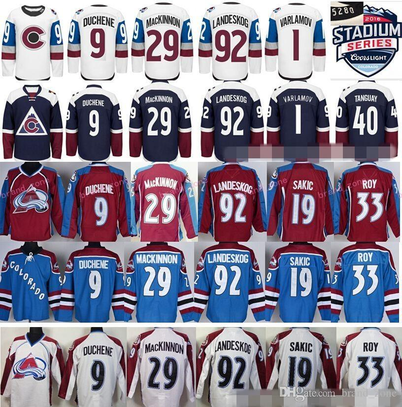 Chaussures Colorado Avalanche Winter Classic Hockey sur glace 92 Gabriel Landesk