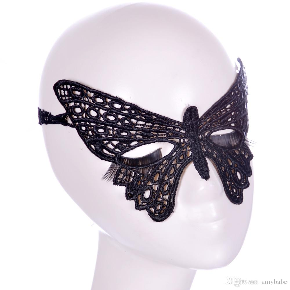New Lace Butterfly Party Mask Ball Halloween Mask Party Nightclub ...