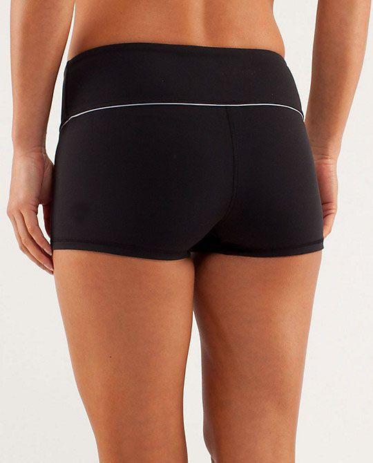 2017 Wholesale Womens Yoga Lulu Shorts Pant Black Sport