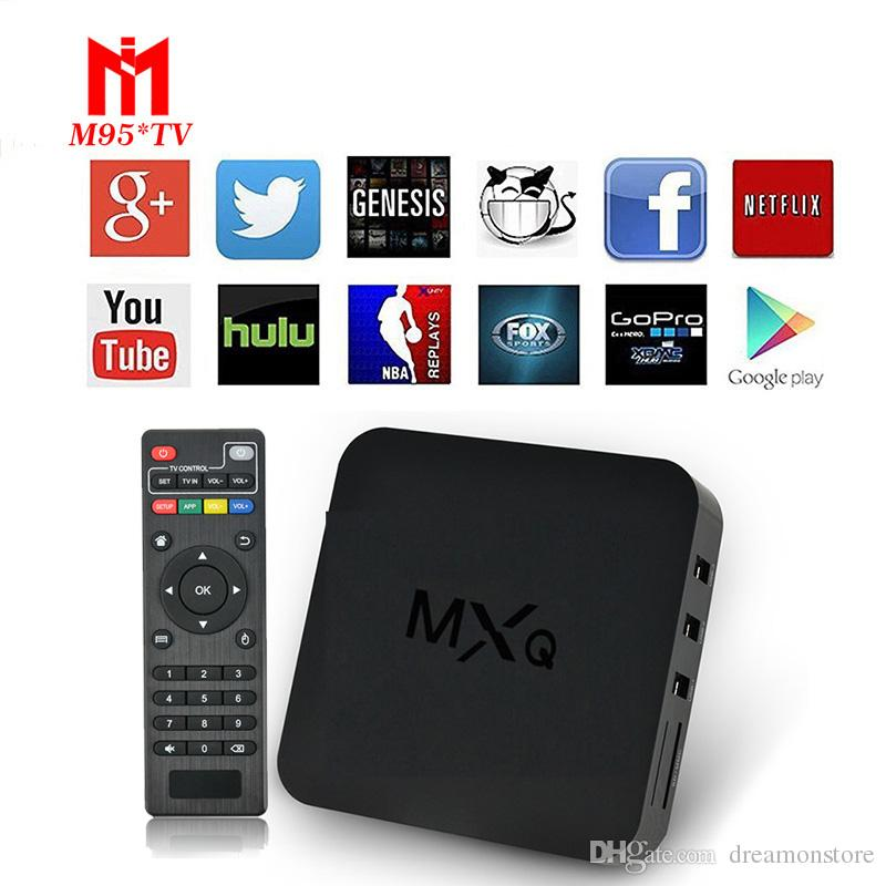 Meilleure vente MXQ Smart TV Box Android 4.4 Amlogic S805 Media Player 1080P HDM