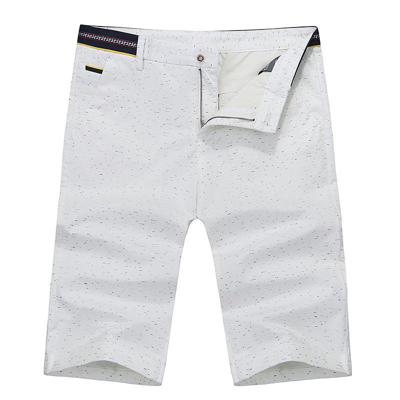 2017 Wholesale Luxury Brand White Mens Chino Shorts Knee Length ...