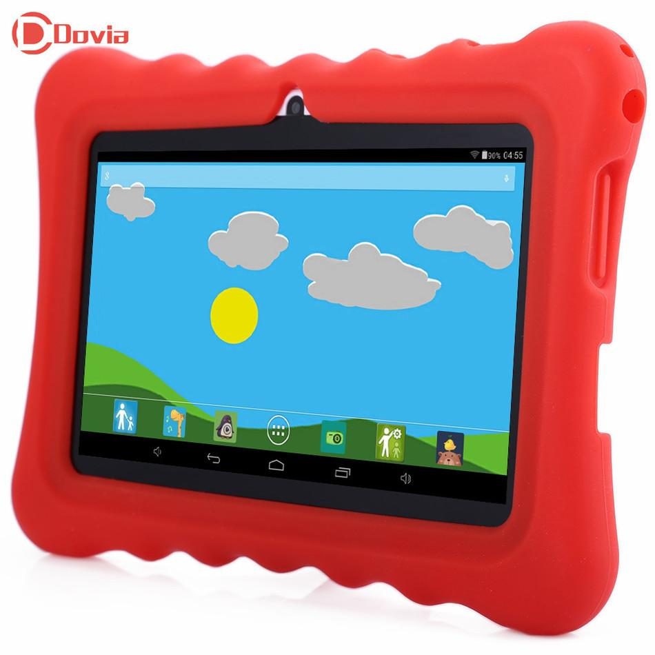 Grossiste - GBtiger L701 7,0 pouces UE Plug Android 4,4 Kids Tablet PC Quad Core