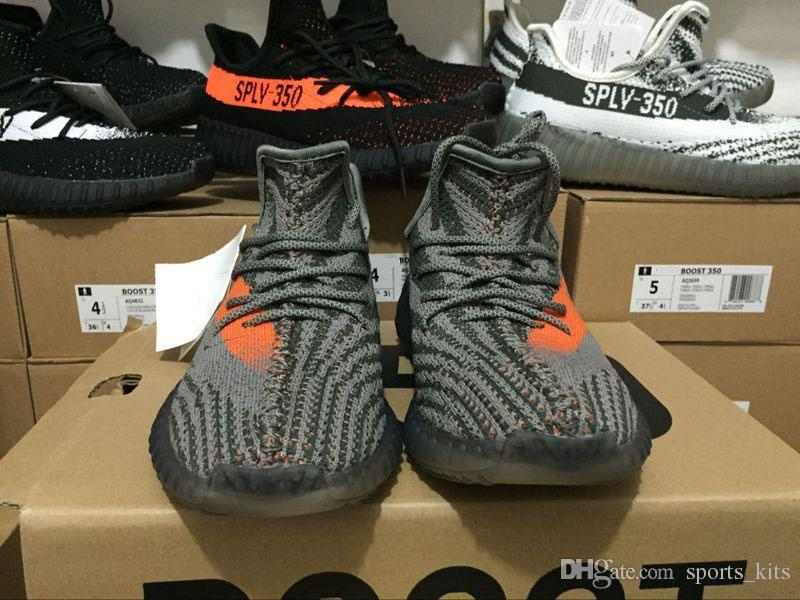 $220 Adidas Yeezy Boost 350 V2 Black Copper By1605 For Sale