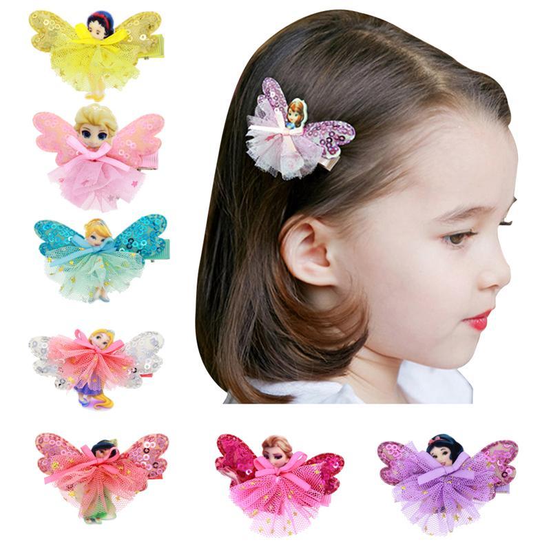 New Baby Girls Hair Clips Cute Cartoon Anime Hairpins ...