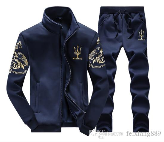 3colour Tracksuits Maserati Hommes Sport Sport Sport Luxe Hommes Sportswear Marq