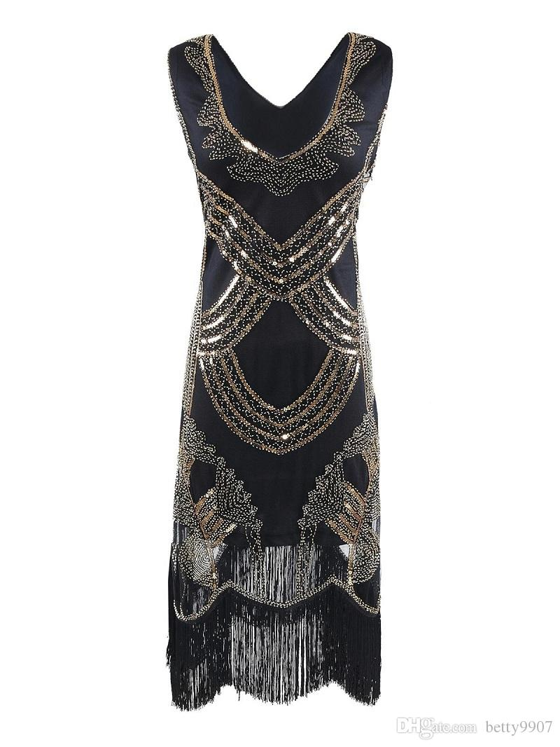 Evening dress 1920s style