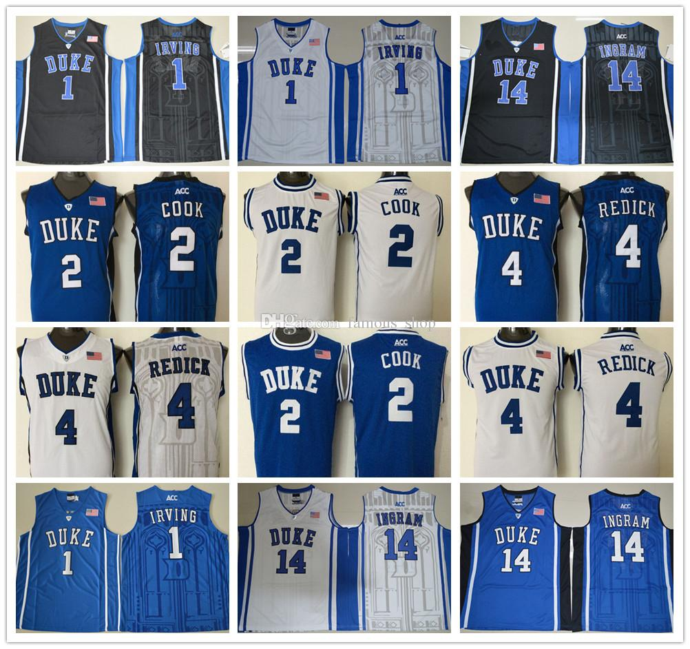 1739d571159 ... hot quinn cook blue round collar college basketball jersey 2017 duke  blue devils 14 2 authentic