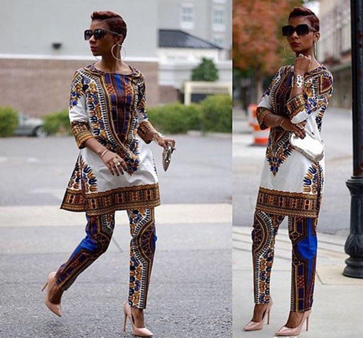 2017 2016 New African Fashion Design Dress Suits Women ...