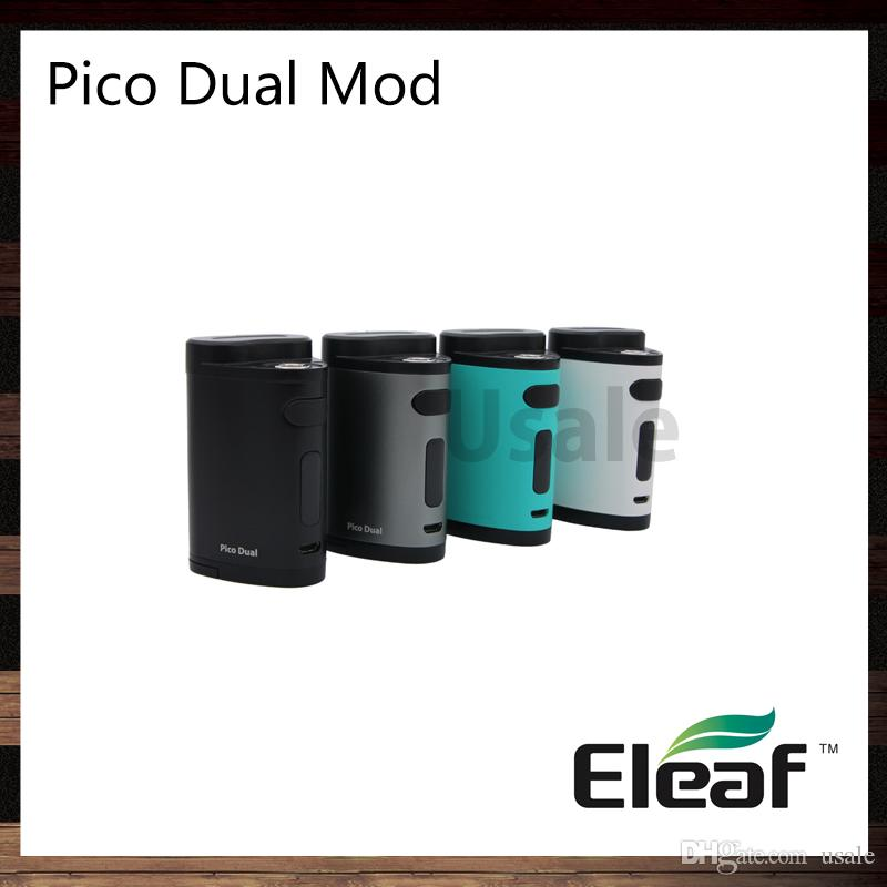 Eleaf pico dual mod 200w tc mod work as power bank firmware upgradable preheat function