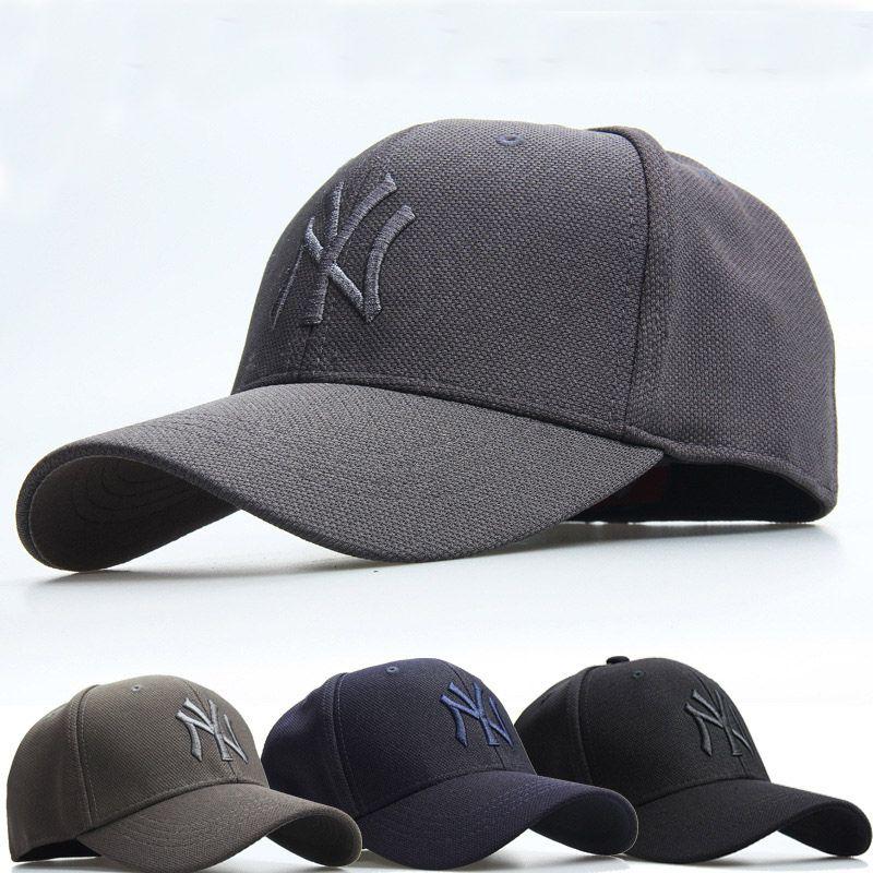 hot trend ny men women baseball hats fully enclosed type