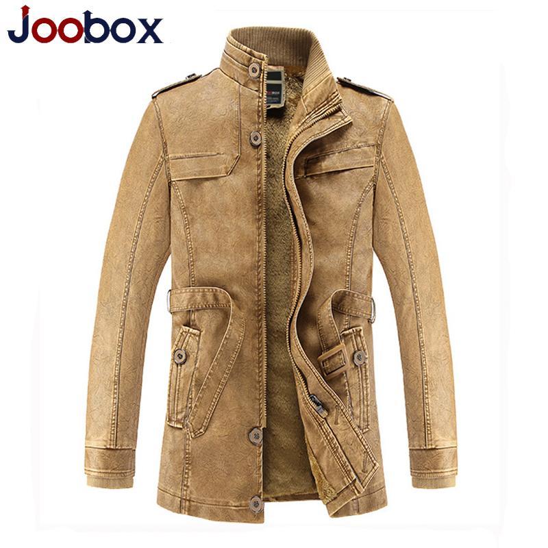 2016 Trench Long Coat Men Retro Mens Overcoat Winter Jackets Male ...