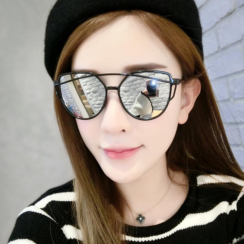 Sunglasses Fashion Women Star Glasses 2017 New Round