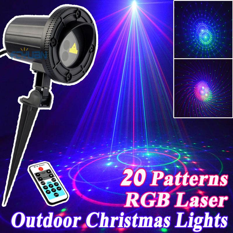 Cheapest Christmas Outdoor Lights Decorations: 2017 Wholesale Outdoor Star Christmas Lights Laser Shower