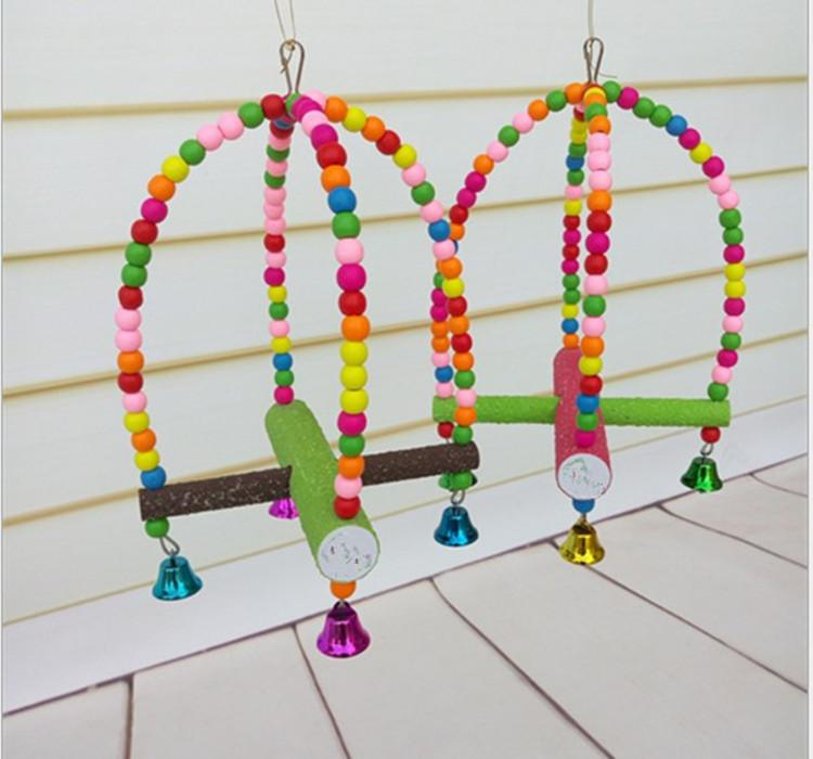 Wholesale Bird Toys : Wholesale colorful bird supplies toys swivel ladder
