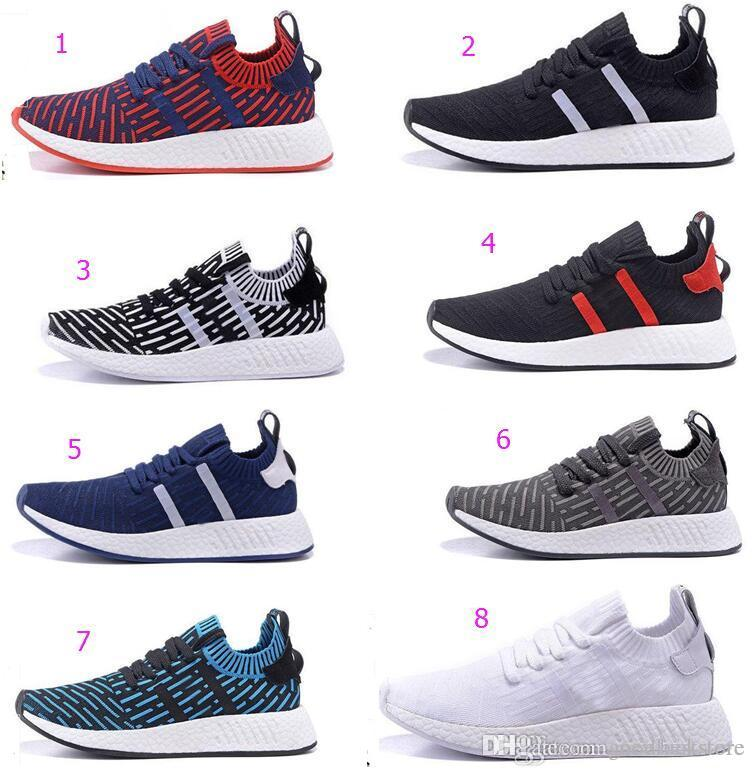 adidas NMD Xr1 PK Primeknit OG Black Blue Red Mens Sizes By1909