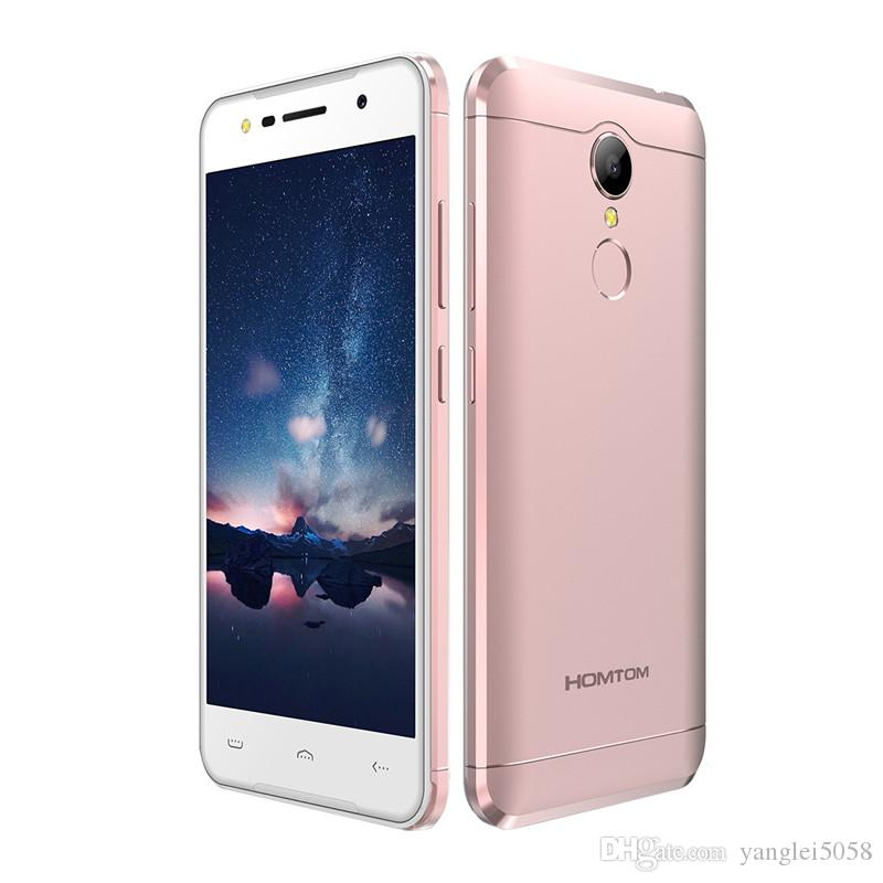 Original HOMTOM HT37 Fingerprint MT6580 Quad Core Android 6.0 Smartphone 2 Go RA