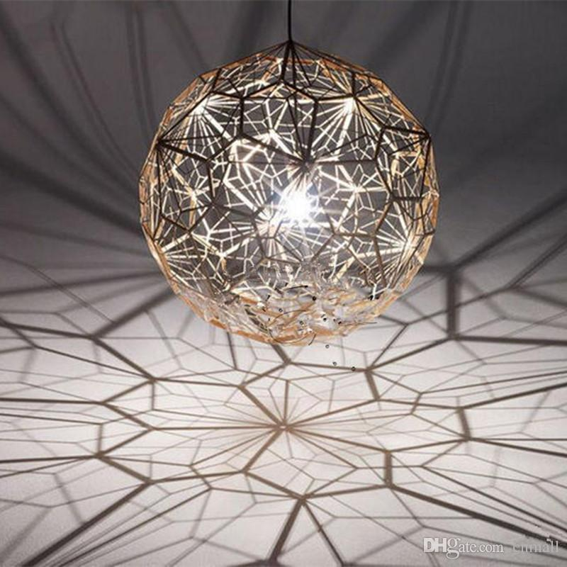 Tom Dixon Etch Web Creative Arts Diamond Ball Hanging