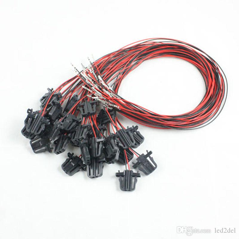 50cm extension wires cable oem led door light 50cm extension wires cable oem led door light bulb wiring harness For Ford 302 Fuel Injection Wiring Harness at aneh.co