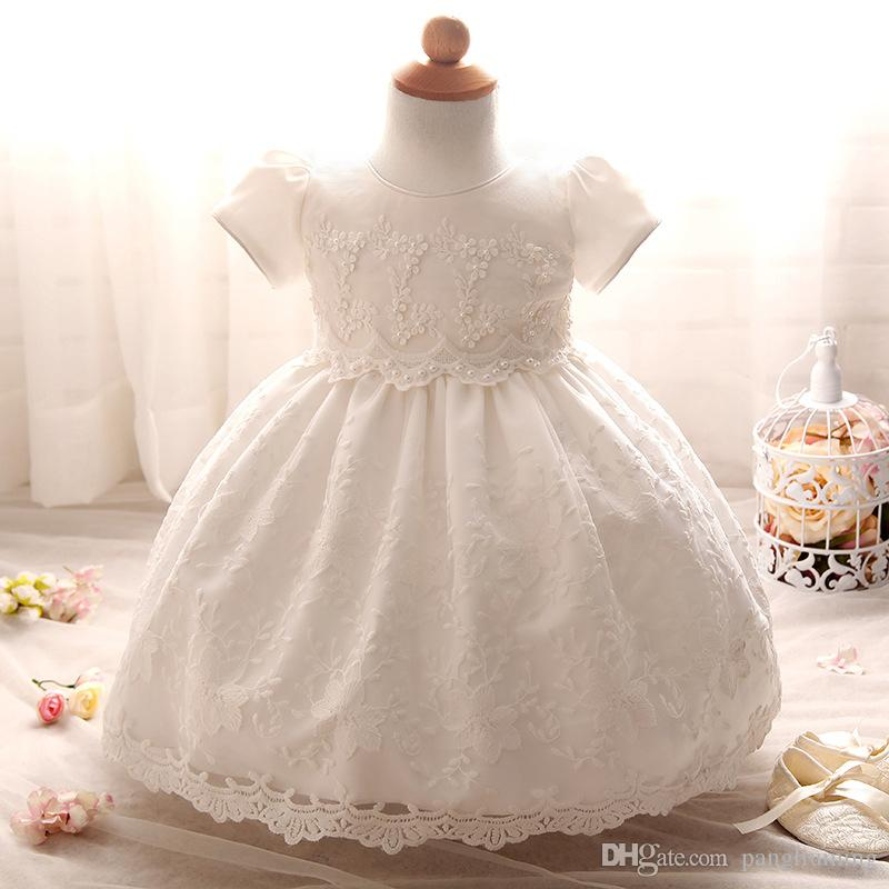 Lace Material Comfortable Design Baby Girl Party Dress ...