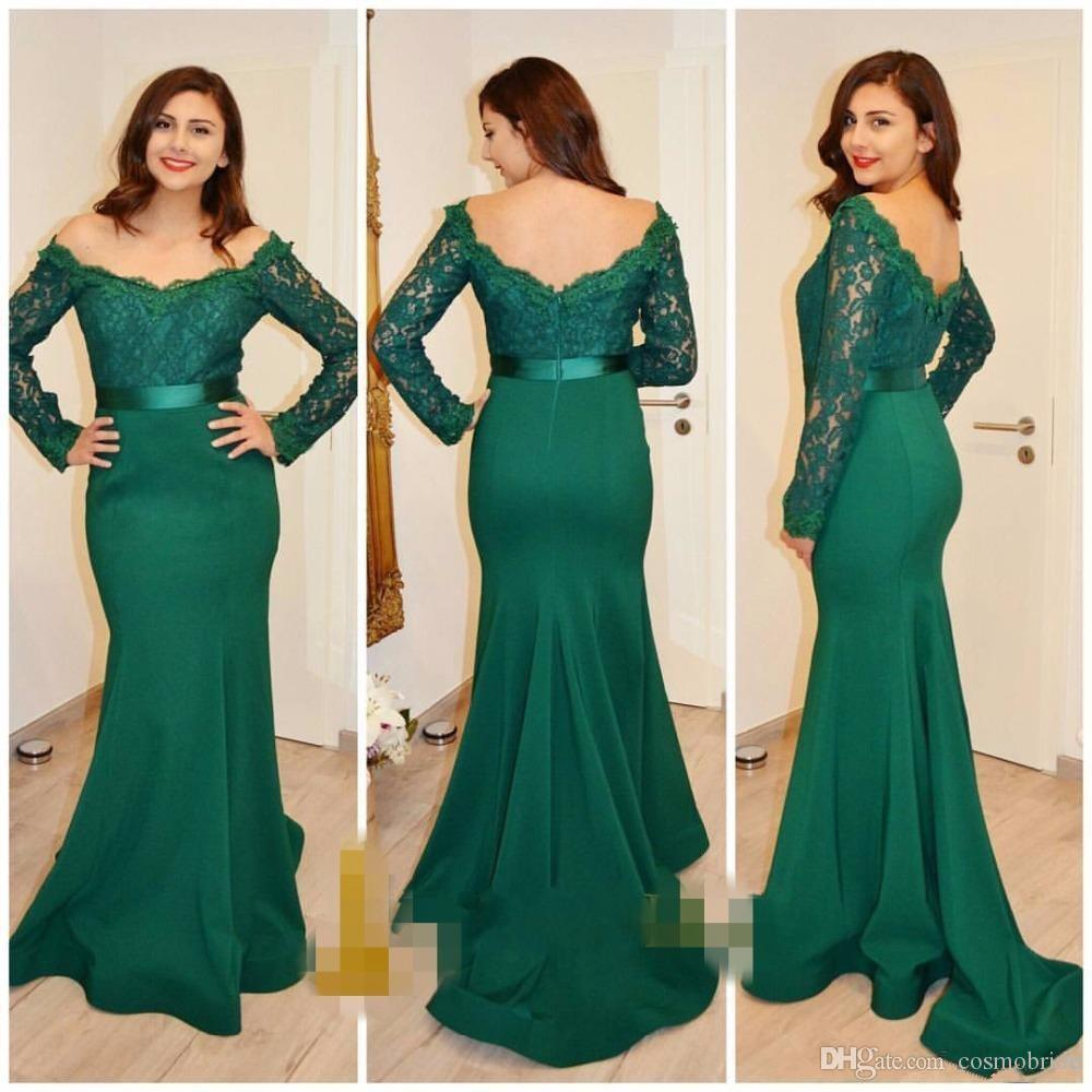 2017 arabic bridesmaid dresses long sleeve lace zipper back 2017 arabic bridesmaid dresses long sleeve lace zipper back mermaid wedding guest dress custom made formal evening gowns from china bridesmaids dresses ombrellifo Image collections