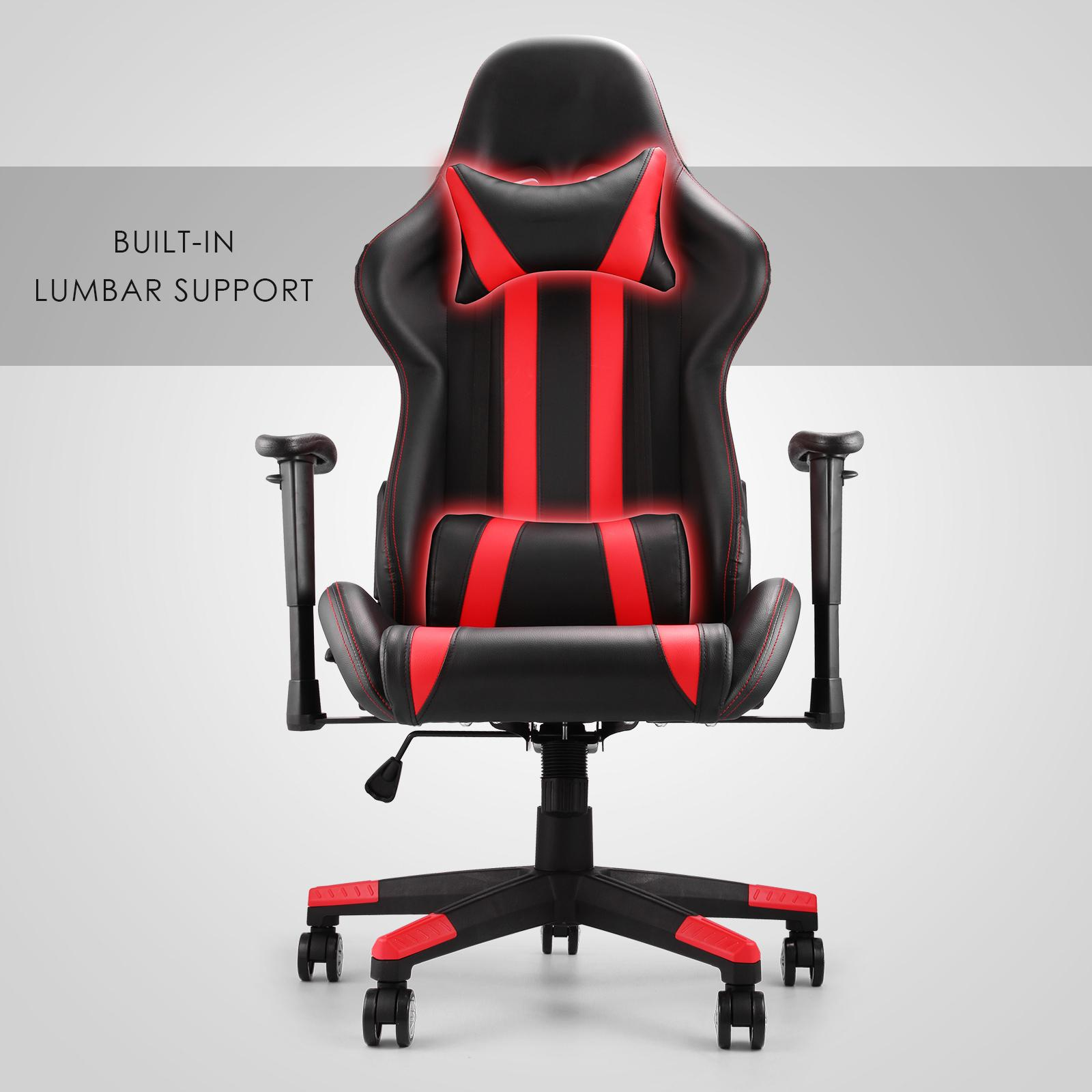 mophorn high back reclining chair executive racing style gaming chair