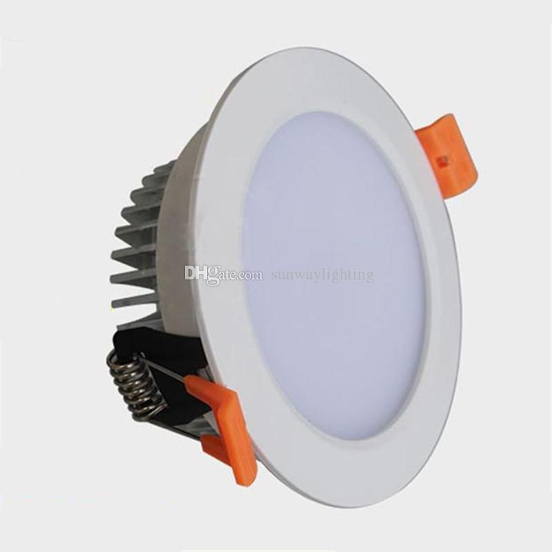 LED encastrée Down Lights Éclairage LED Downlights plafonnier Gradable 7W 9W 12W
