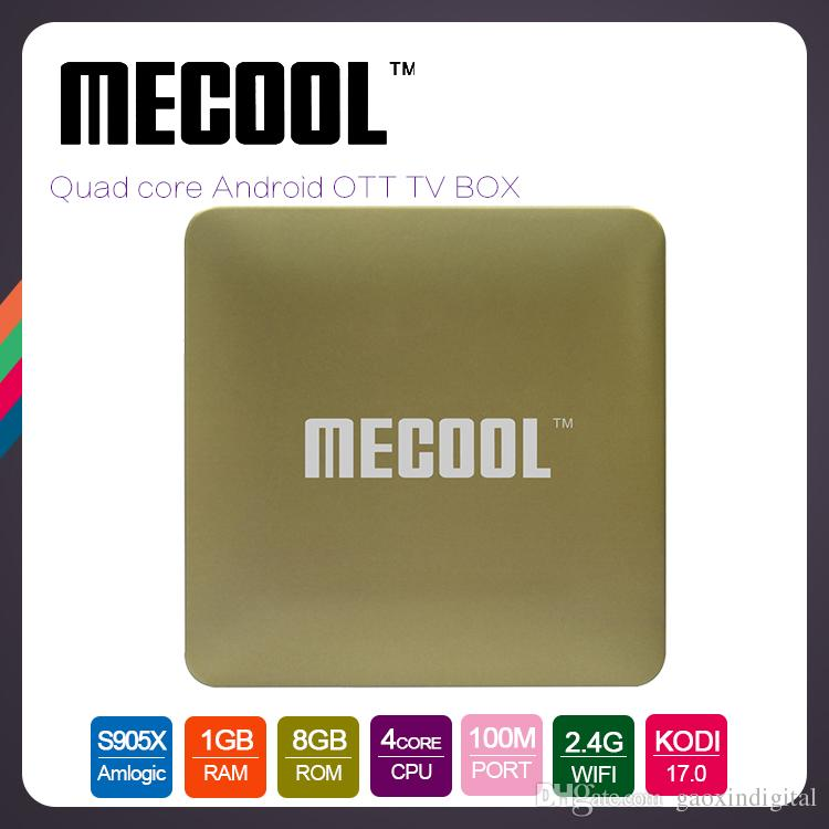 2017 Android TV Box S905X Quad Core Mecool HM8 4K Films Stream Android 6.0 Total